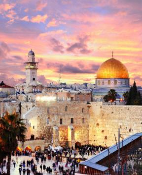 Jeruzalem, mesto zgodovine, ver in ljudi, Tur Tur Turizem