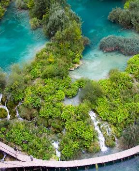 Čudoviti narodni park Plitvice