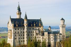 Pravljični viteški Neuschwanstein