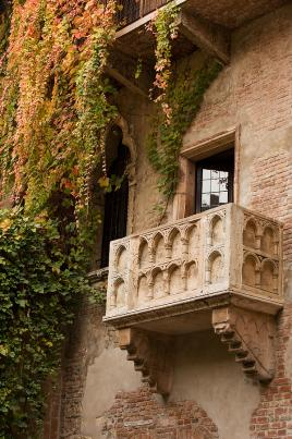 Julijin balkonček v Veroni