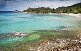 Morje, plaže, neverjetne barve; tur Tur Turizem