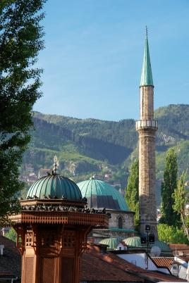 Tur Tur Turizem - slavna fontana in džamija v Sarajevu
