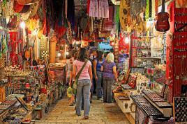 Barvite tržnice Jeruzalema, Tur Tur Turizem