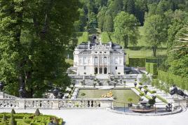Rokokojski dvorec Linderhof