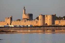 Aigues mortes- srednjeveško mestece ob Sredozemlju