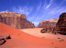 Čarobna puščava Wadi Rum
