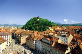 Štajerska prestolnica Graz