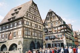 Čudovito srednjeveško mesto Rothenburg